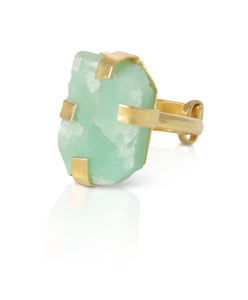 Olivia Chrysoprase ring