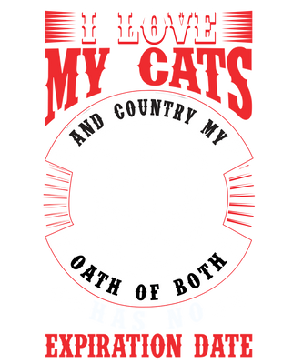 I Love My Cats And Country