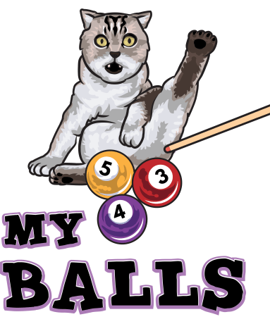 My Balls Neutered Bengal T Shirt