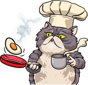 Persian Cat Cook
