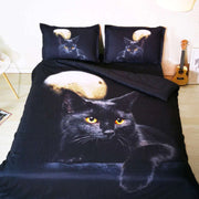 Cat 3-D Bed Covers