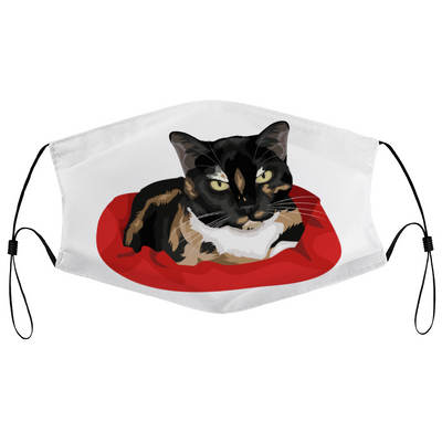 Calico Cat Survival Mask