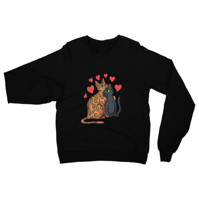 Valentines Day Cat Love Standard Sweatshirt