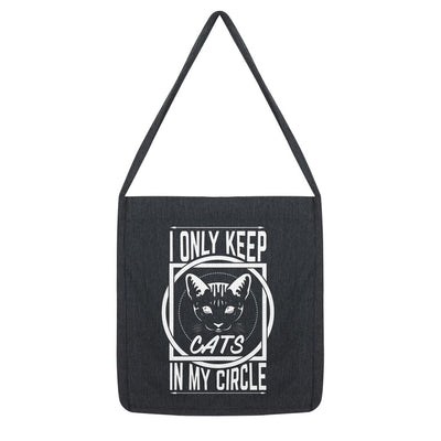I Only Keep Cats In My Circle Tote Bag