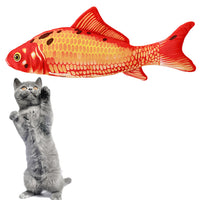 Funny Charming Cat Fish Toy