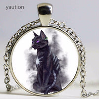 Russian Blue Cat Exotic Pendant