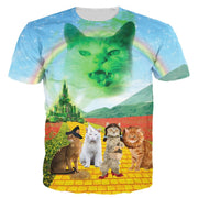 Wizard Of Paws 3-D T Shirt
