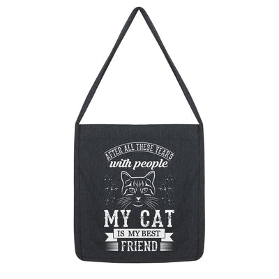 After All These Years With People My Cat Is My Best Friend Tote Bag