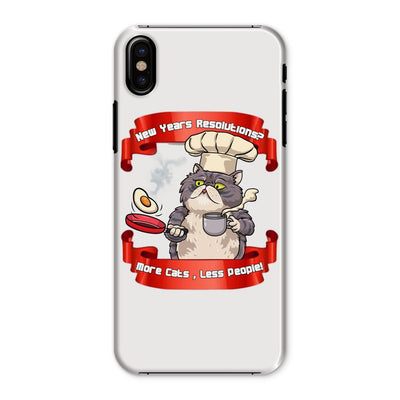 More Cats Less People Phone Case