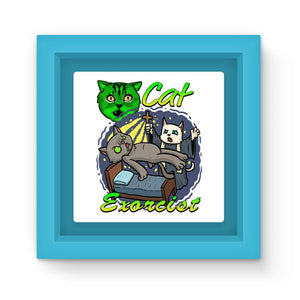 Cat Exorcist Apparel And Gifts Magnet Frame