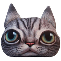 Cute Cat And Dog 3-D Pillow Cushions