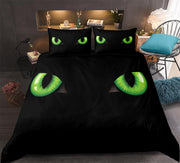 3-D Cat Eye Bedding Set