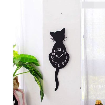 3-D Cat Wall Clock DIY