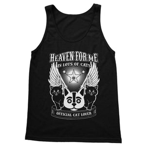 Heaven For Me Is Lots Of Cats Softstyle Tank Top
