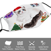 Ragdoll Cat Christmas Face Mask