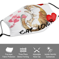 Cat Lover Mouth Mask