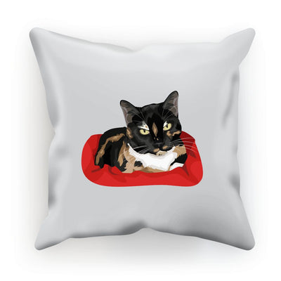 Calico Cat Cushion