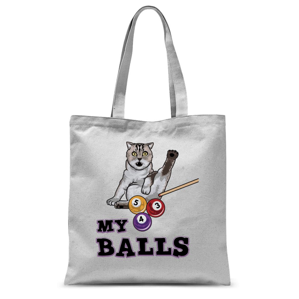 My Balls Neutered Bengal T Shirt Sublimation Tote Bag