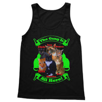 The Gang Is All Here 6 Cats Softstyle Tank Top