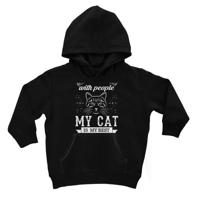 After All These Years With People My Cat Is My Best Friend Kids Hoodie