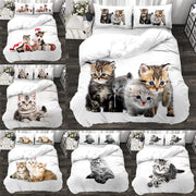 Kitten Cuteness Overload Quilt Cover Bedding Sets