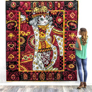 Queen Of Cats Quilt