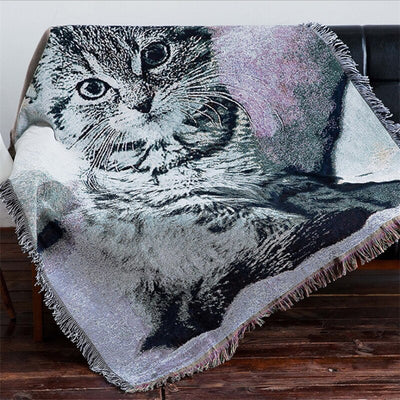 Tabby Home Decoration Blanket