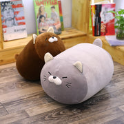 Cute Cat Pillow Animal kitten Seat Cushion