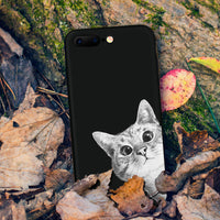 Funny Cat iPhone Case