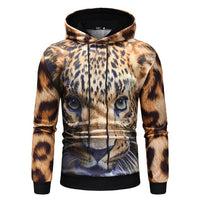 Cheetah In-Style 3-D Hooded Sweatshirt