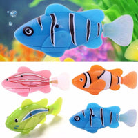 Funny Cat Simulation Battery Powered Fish Toy