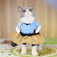 Funny  Cat Costumes Cosplay Suit