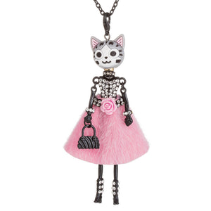 Kitty Doll Necklace