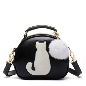 Hairball Pendant Cute Cartoon Handbags
