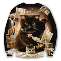 Black Cat Dolla Bill Hoodie