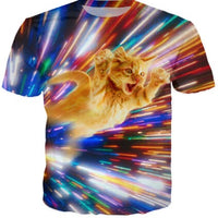 Cat Beam Funny T Shirt