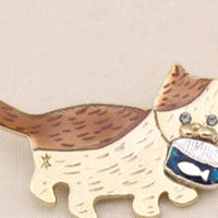 Japanese Brooch Badge Jewelry