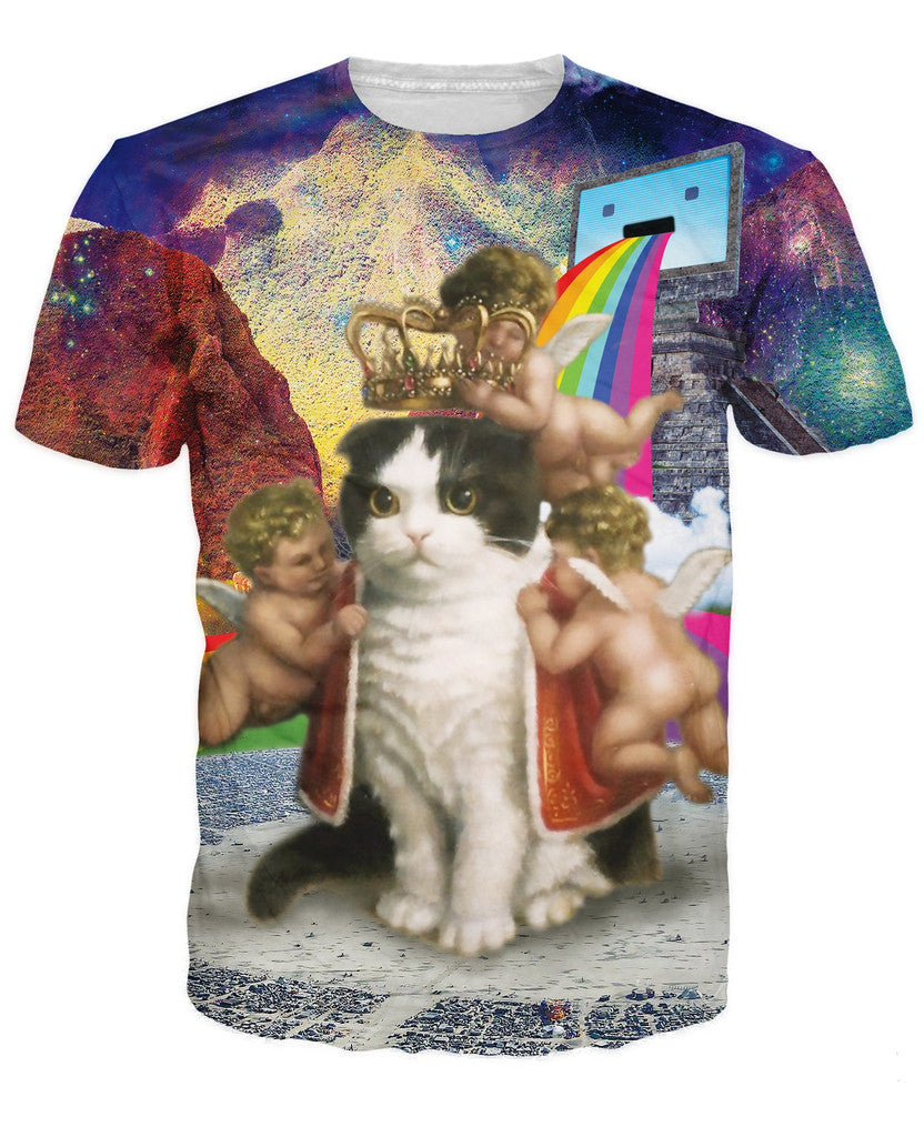 King of the Internet Cat T-Shirt