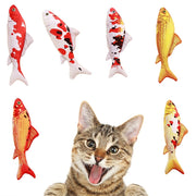 Artificial Fish Plush Pet Cat Toy