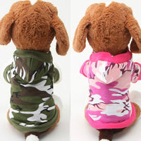 Cotton Camouflage Cat Costumes