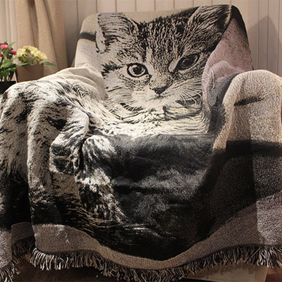 Tiger Cat Sofa Bedsheet