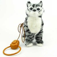 Robot Cat Electronic Plush Singing Toy