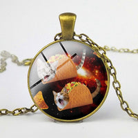 Taco Cat And Other Cute Cat Necklaces For Women