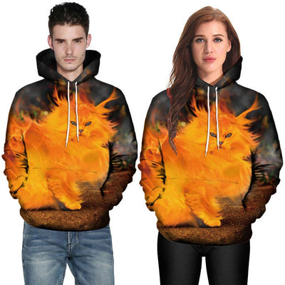 Mr.Orange Cat Hoodie