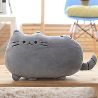 Cat Cushion Stuffed Plush Animal Doll Pillow