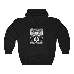 Black Cats Aren't Evil - People Are! Hooded Sweatshirt