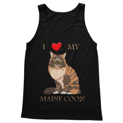 I Love My Maine Coon Softstyle Tank Top