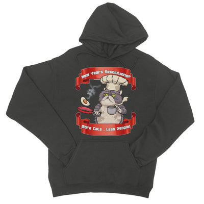 More Cats Less People Hoodie