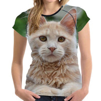 Maine Coon Cat T Shirts