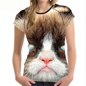 Cute Cat T - Shirt Designs